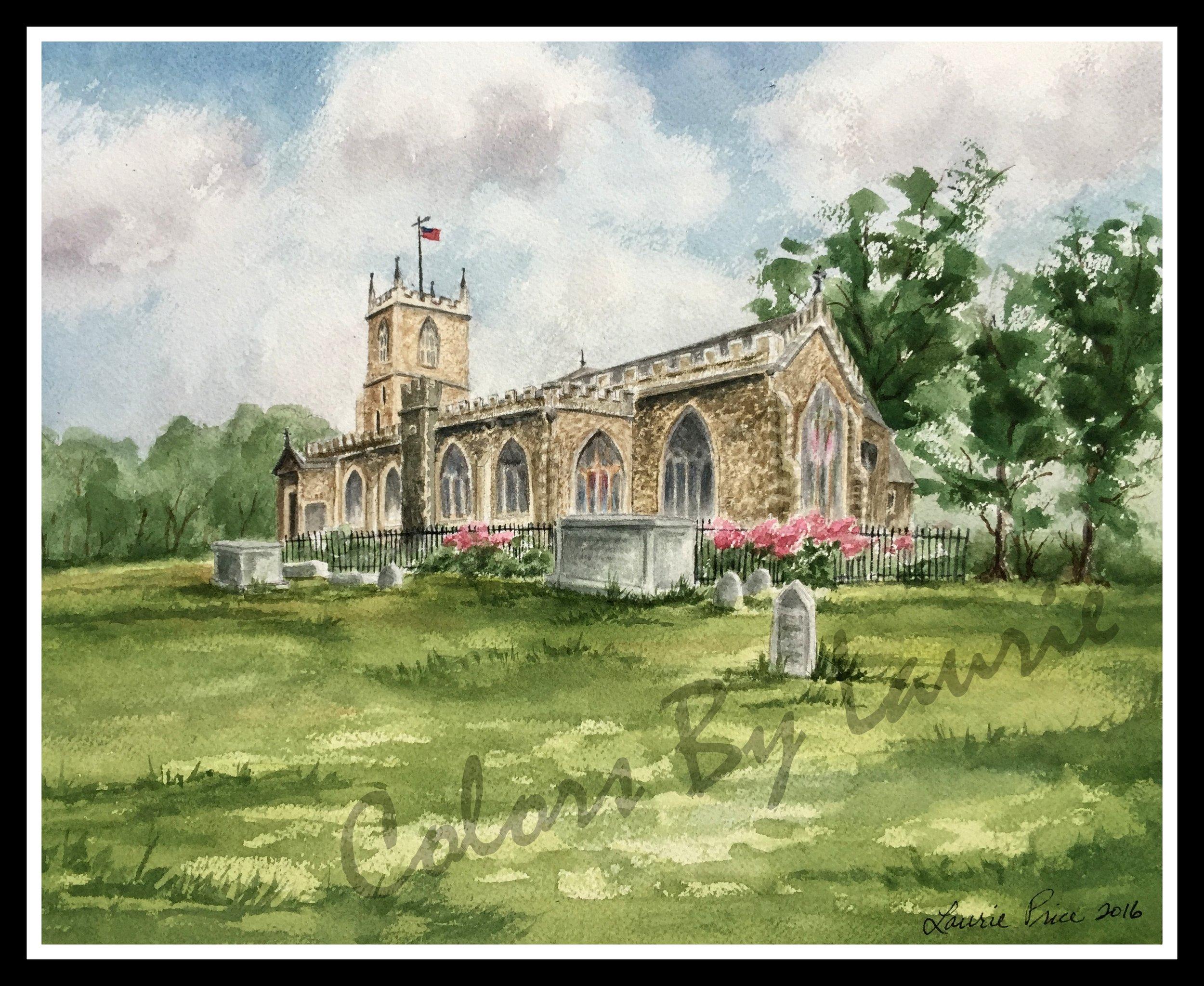 ST. DUNSTAN'S CHURCH, STEPNEY, LONDON