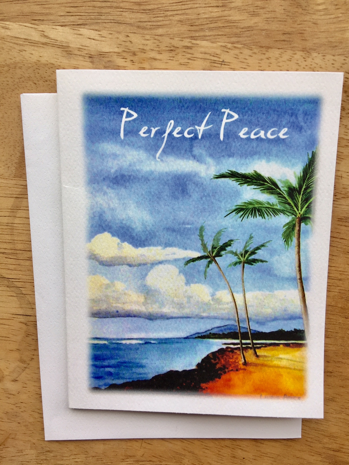 INSIDE: The steadfast of mind You will keep in perfect peace, because he trusts in You. Isaiah 26:3