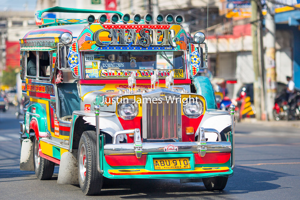 Colorful Jeepney, Dagupan City, Pangasinan, Philippines   Philippine Image # 4017  If you wish to purchase a photography print of this image, or would like to license this image please contact us using the form below.  Please kindly include the Image Title and Image Ref # in your message, we will get back to you.