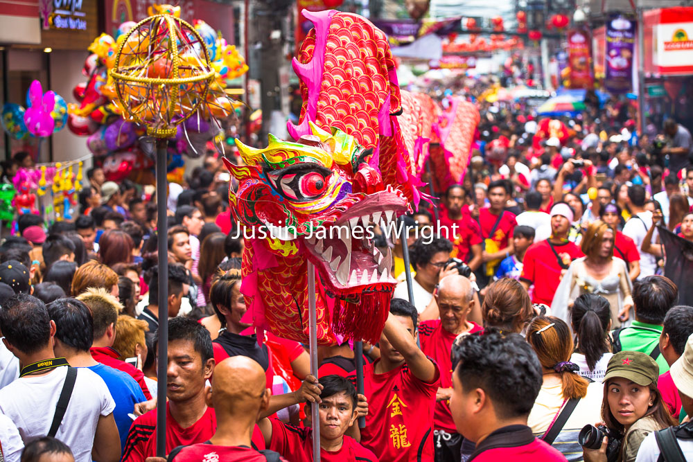 Chinese New Year Celebrations (CNY), Binondo, Manila China Town, Philippines   Philippine Image # 4123  If you wish to purchase a photography print of this image, or would like to license this image please contact us using the form below.  Please kindly include the Image Title and Image Ref # in your message, we will get back to you.