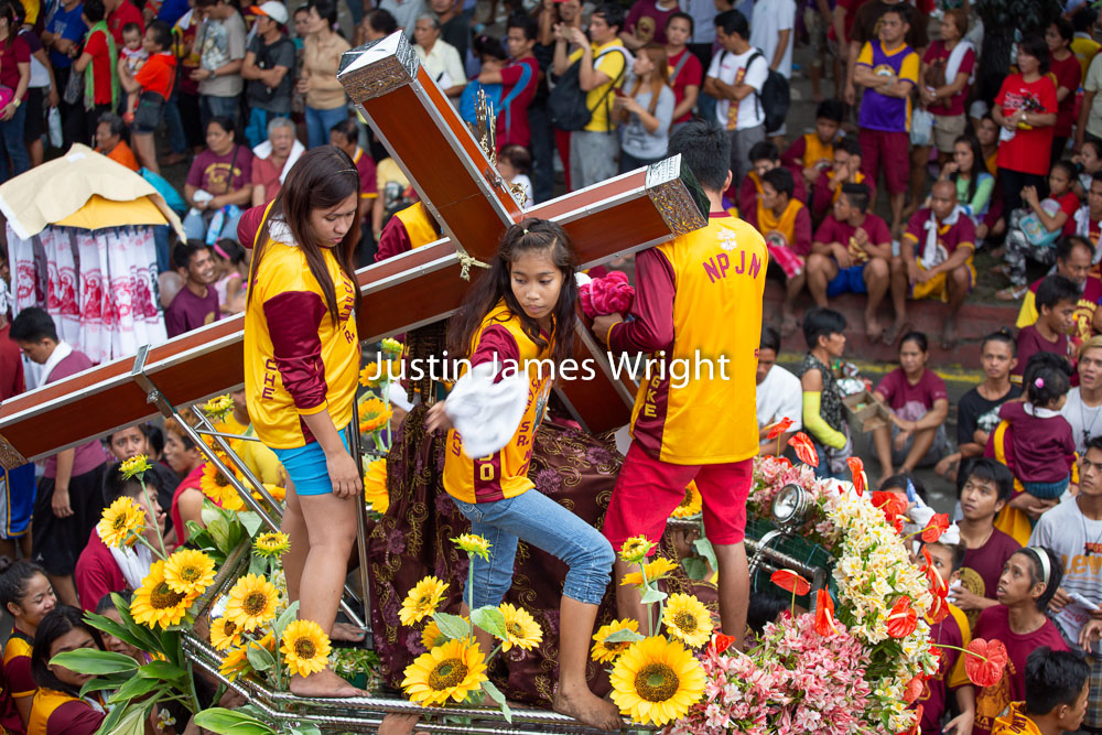 The Procession / Feast of the Black Nazarene, Manila, Philippines   Philippine Image # 4128  If you wish to purchase a photography print of this image, or would like to license this image please contact us using the form below.  Please kindly include the Image Title and Image Ref # in your message, we will get back to you.