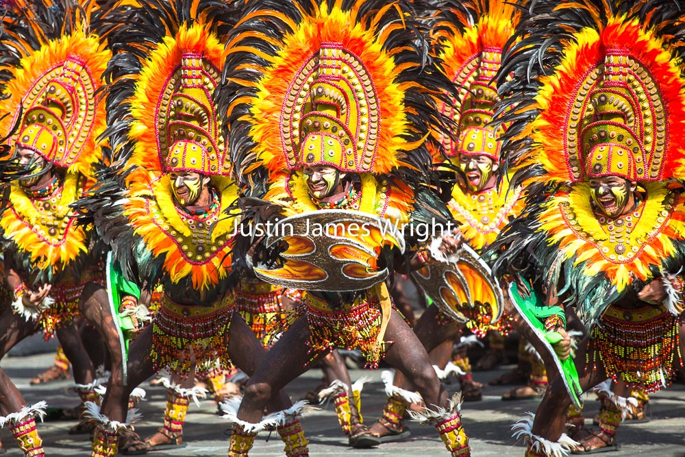 Dinagyang Festival, Iloilo City, Philippines   Philippine Image # 4137  If you wish to purchase a photography print of this image, or would like to license this image please contact us using the form below.  Please kindly include the Image Title and Image Ref # in your message, we will get back to you.