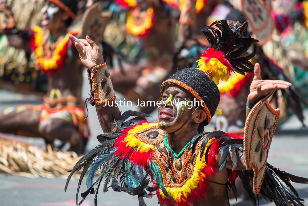 Dinagyang Festival, Iloilo City, Philippines   Philippine Image # 4140  If you wish to purchase a photography print of this image, or would like to license this image please contact us using the form below.  Please kindly include the Image Title and Image Ref # in your message, we will get back to you.