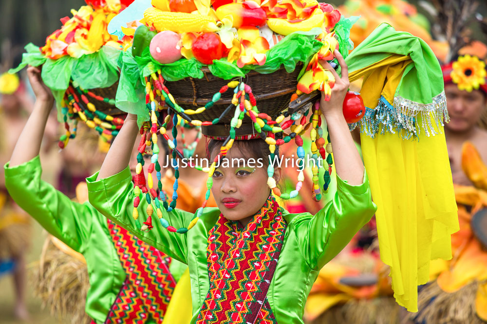 Panagbenga Festival, Baguio City, Benguet, Philippines   Philippine Image # 4142  If you wish to purchase a photography print of this image, or would like to license this image please contact us using the form below.  Please kindly include the Image Title and Image Ref # in your message, we will get back to you.
