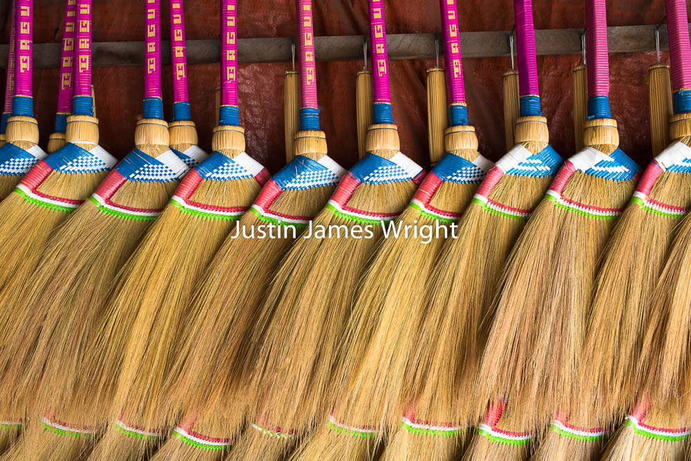Baguio Brooms, Baguio City, Benguet, Philippines   Philippine Image # 4149  If you wish to purchase a photography print of this image, or would like to license this image please contact us using the form below.  Please kindly include the Image Title and Image Ref # in your message, we will get back to you.