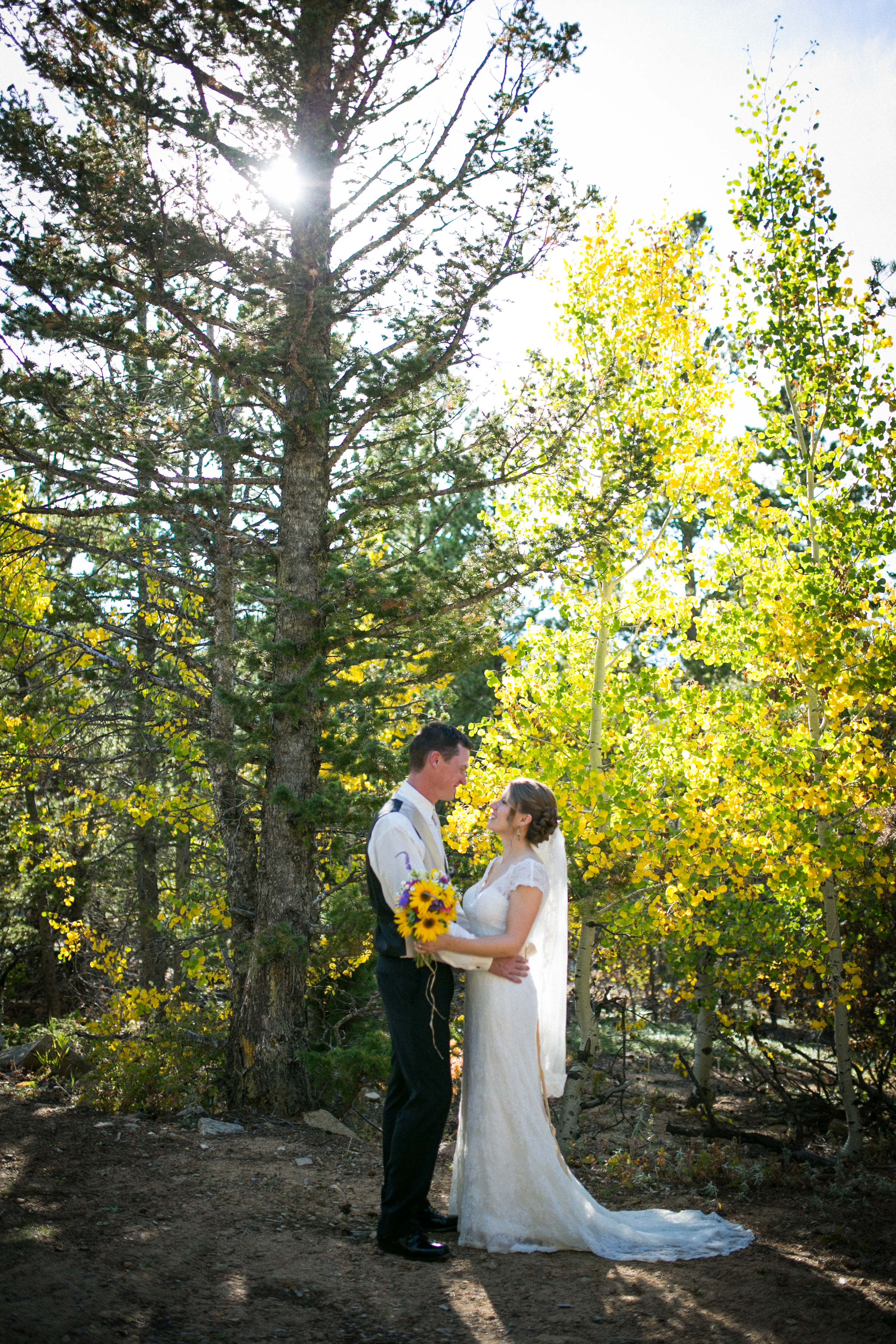 Peaceful Vallery Ranch Lyons Wedding
