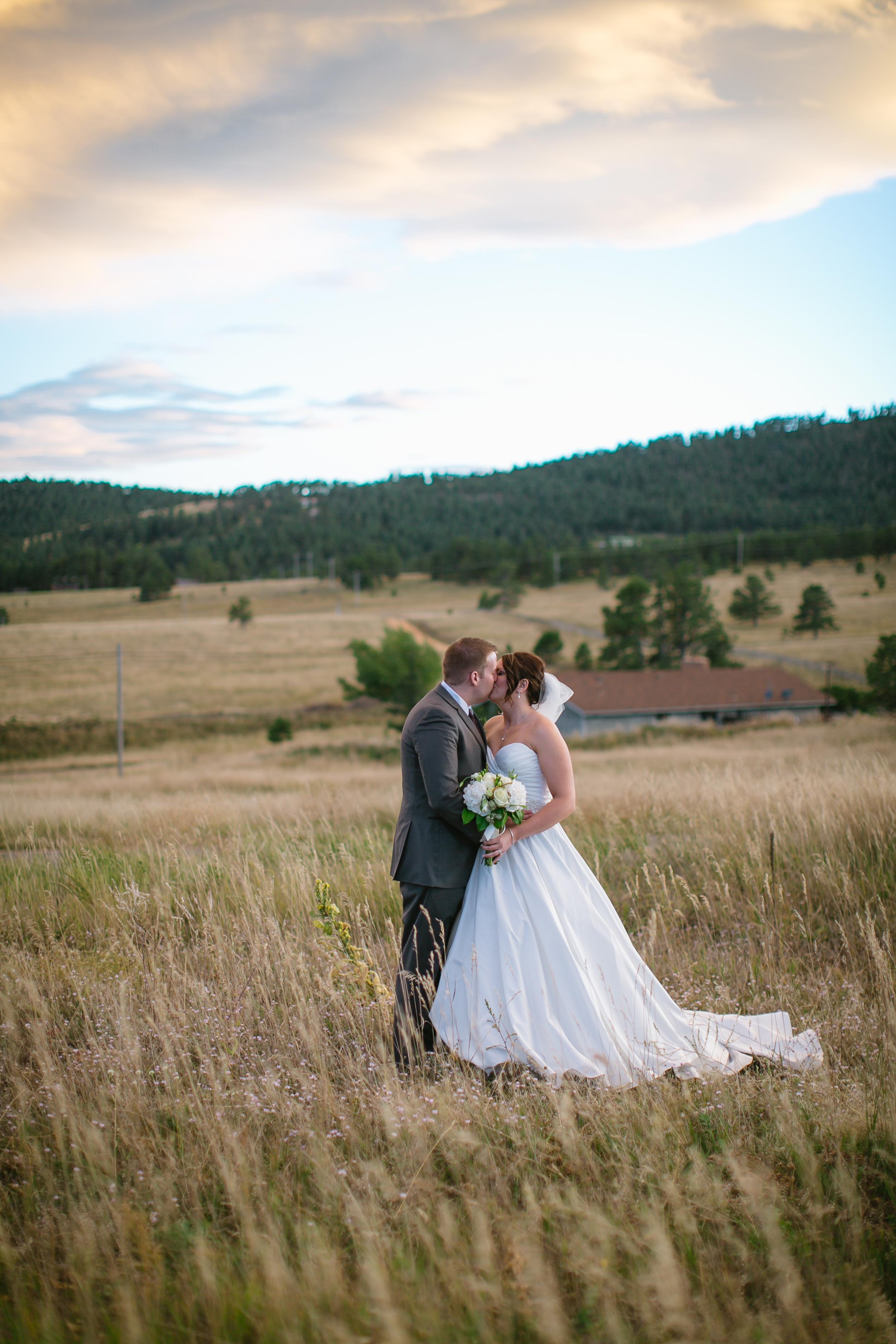 Golden Colorado Wedding