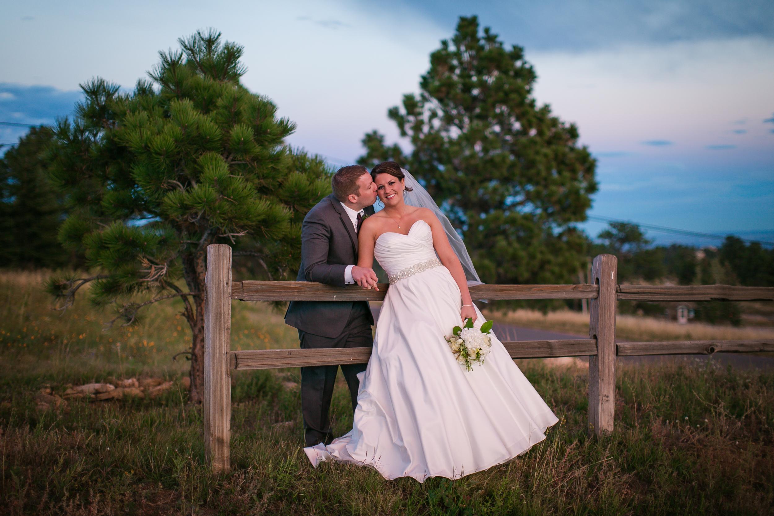 Colorado Sunset Wedding Photographer