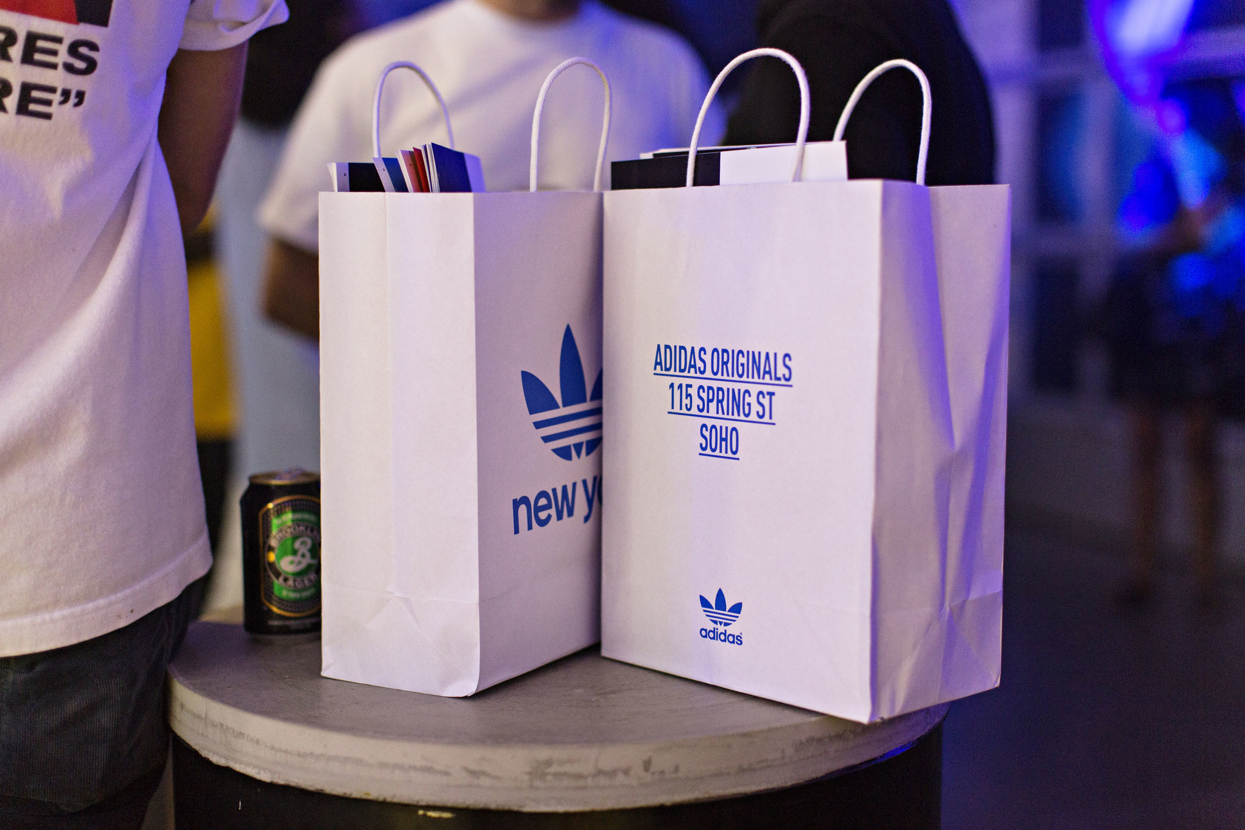 Adidas Originals, Adidas, Wooster, Spring Sneakers, Retail, Soho, New York, Party, Flagship, Invisible North, Creative, Production, Design, Experiential, Brand, Experience, Activation, Joey Bada$$, Pro Era