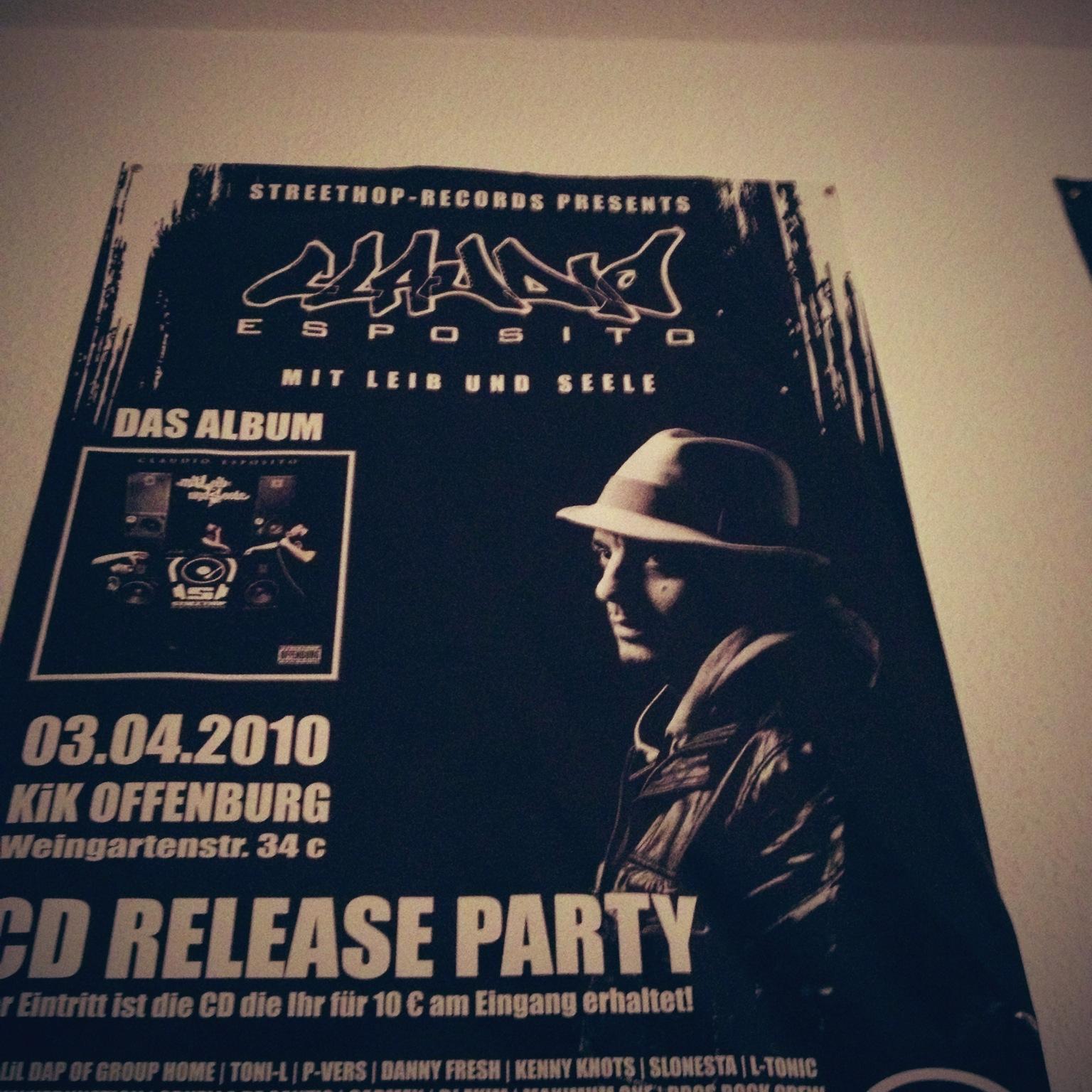 poster aus claudios studio