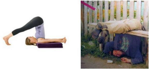 Drinking offers same benefits as Yoga
