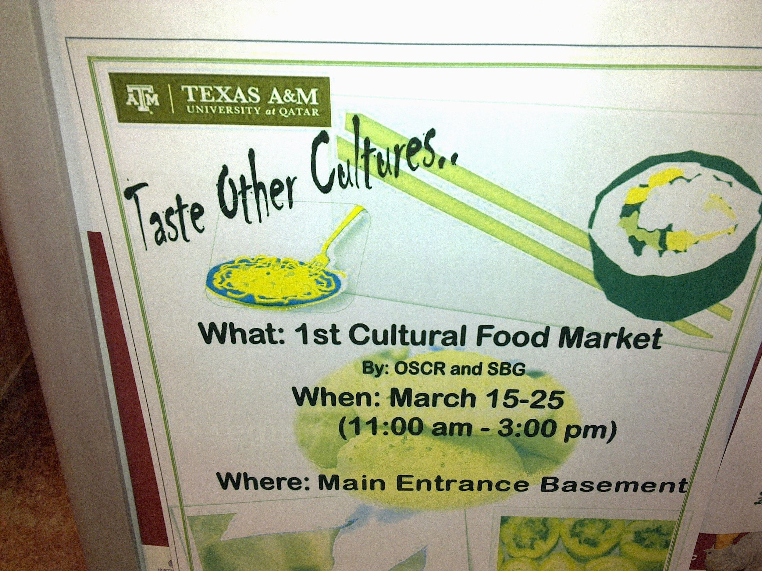 Taste other cultures? really?
