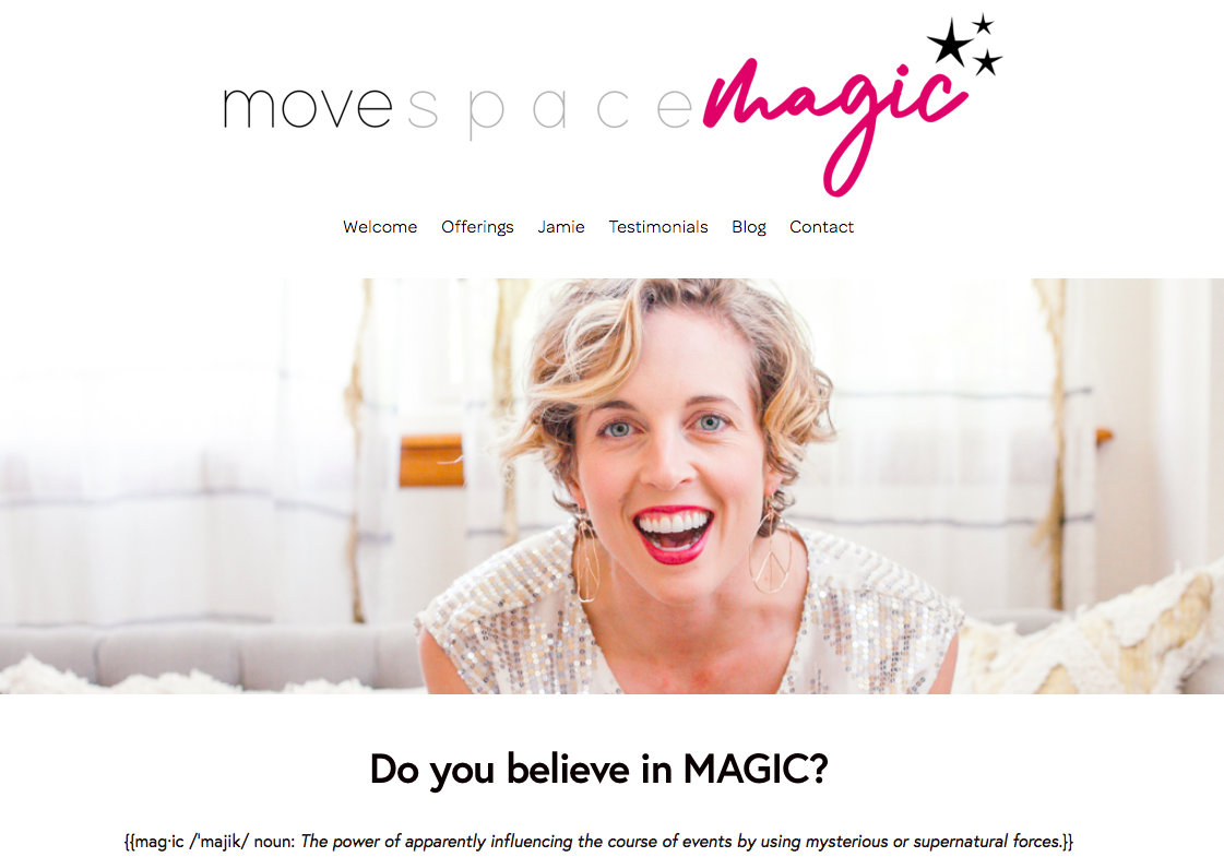 COACH/YOGA TEACHER WEBSITE:  Logo design, web build, copyediting, brand and content creation, photography.