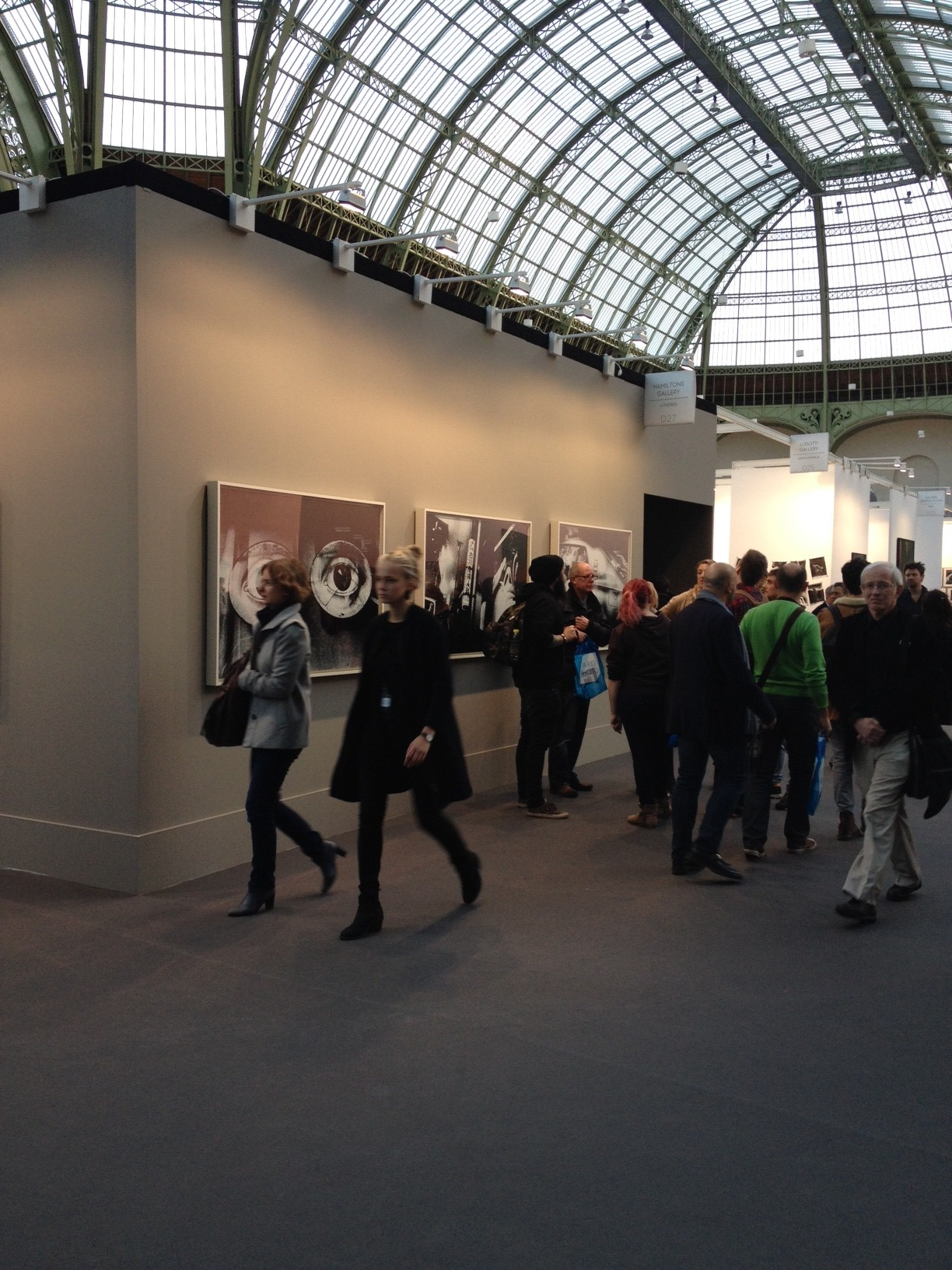 Taking it all in with  city | art insider  at Paris Photo