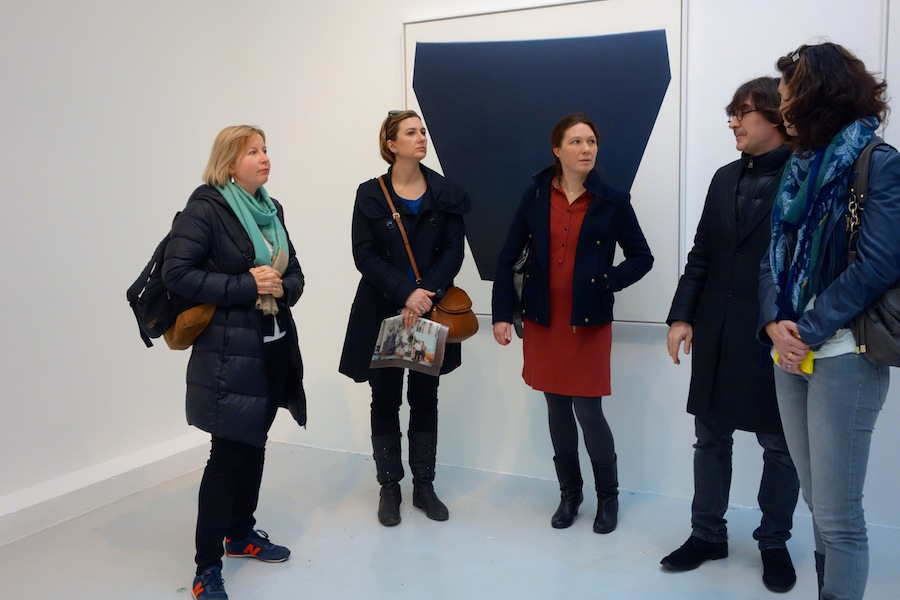 Galerie du jour, Agnès B with Vincent Dulom