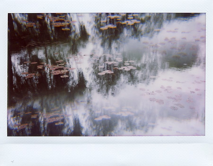 Giverny Polaroid inspiration