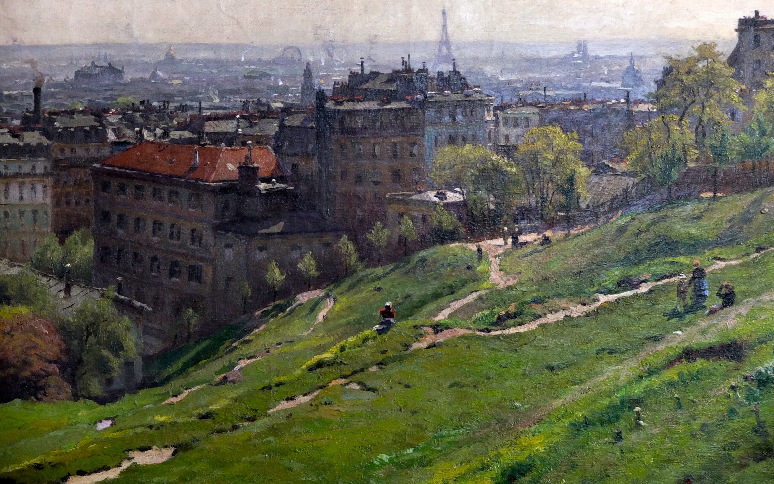Montmartre painted in 1910