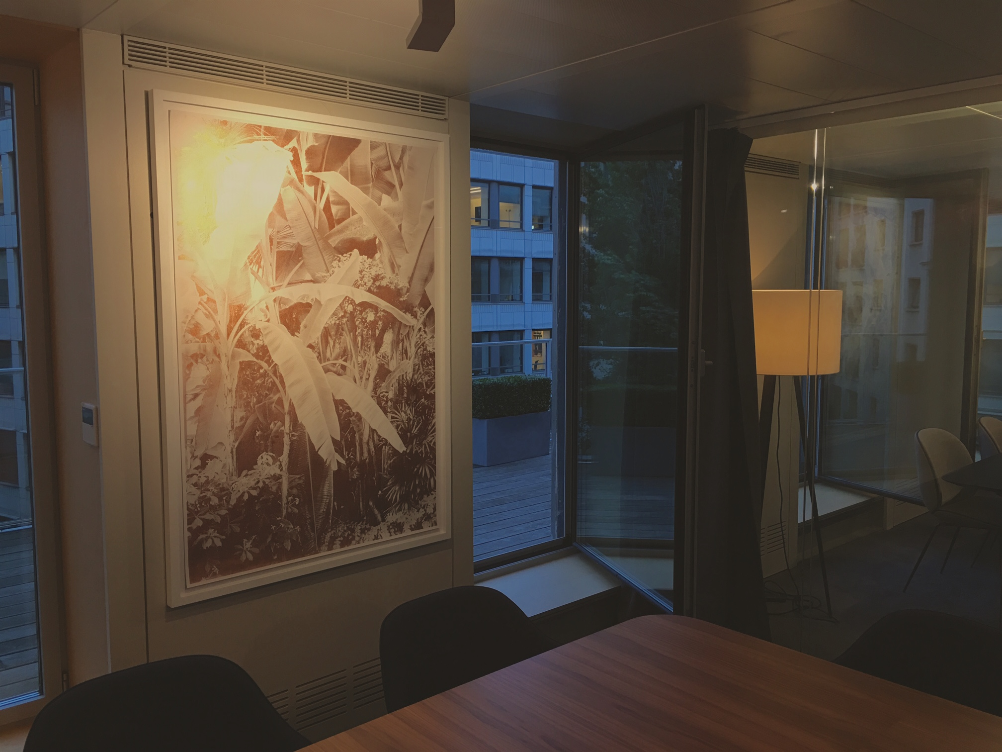 Meeting-room with the Roman Moriceau artwork