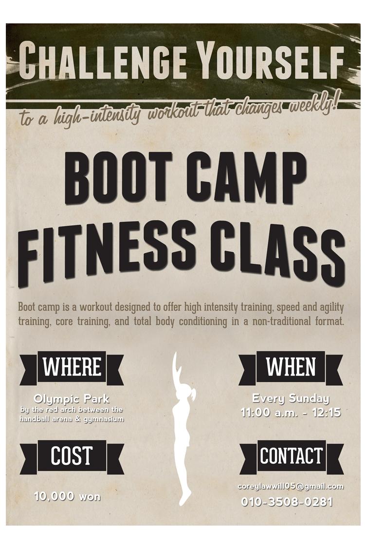 Cory's Boot Camp