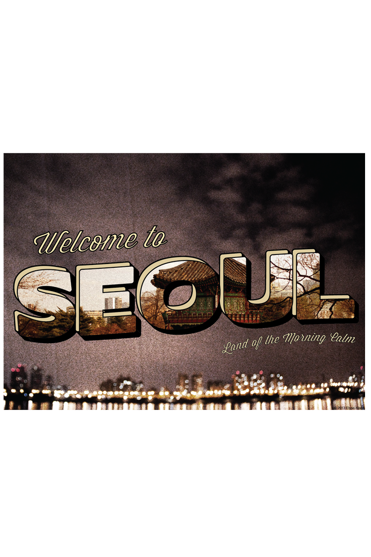 Seoul Postcard (Tutorial)