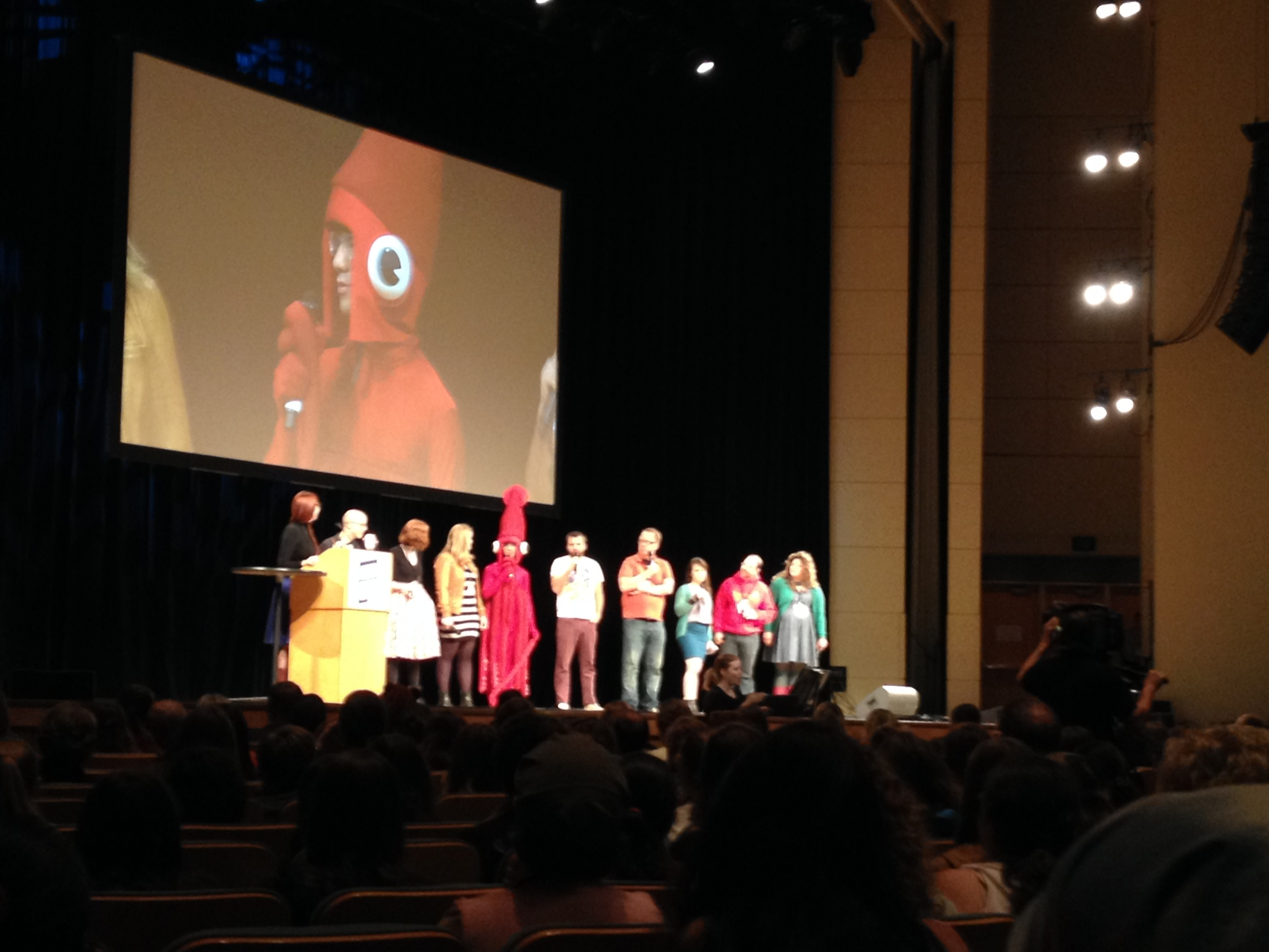 Rapid-fire question and answer with famous people and a squid at NerdCon: Stories