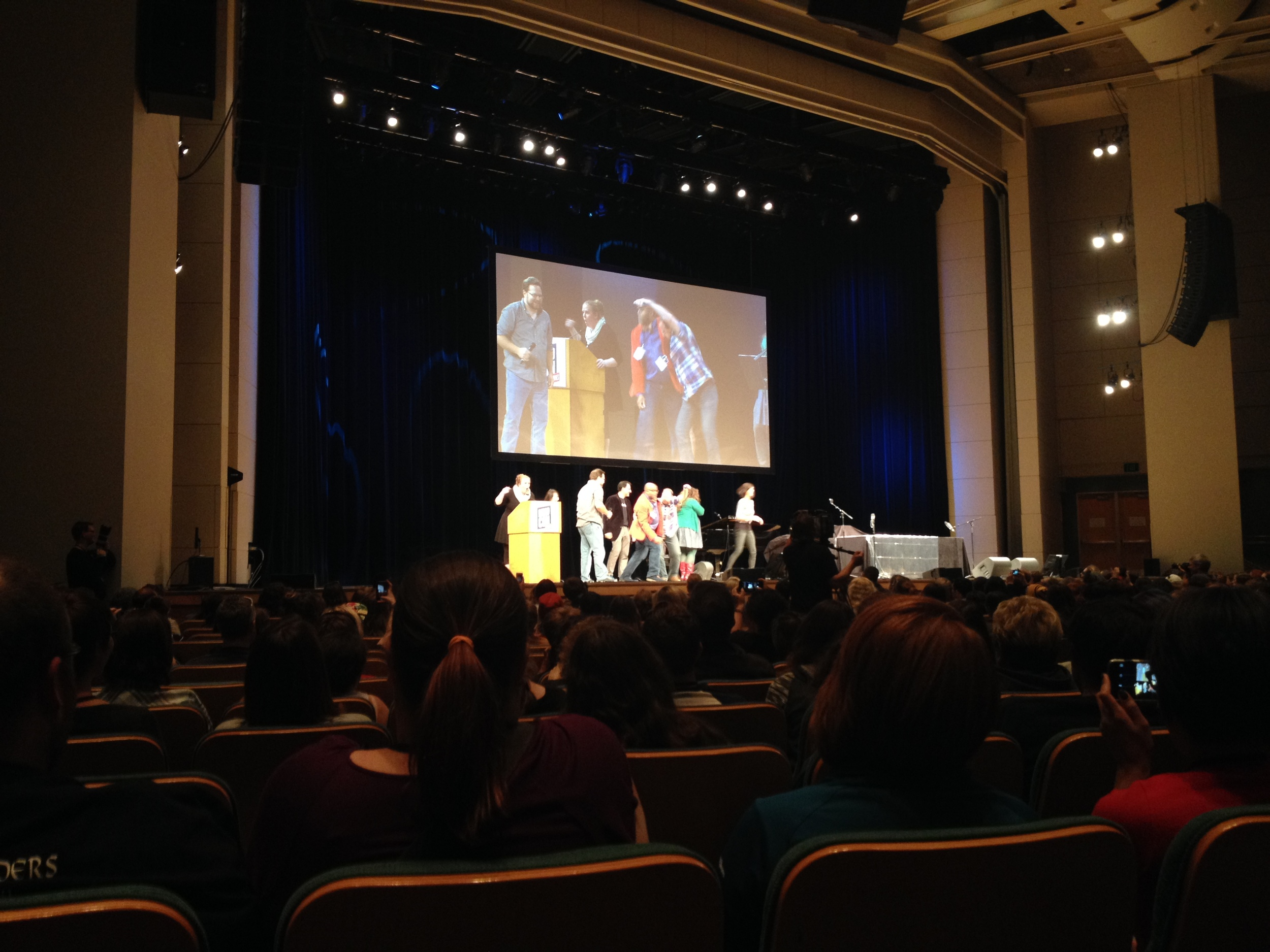A spirited debate at NerdCon: Stories 2015