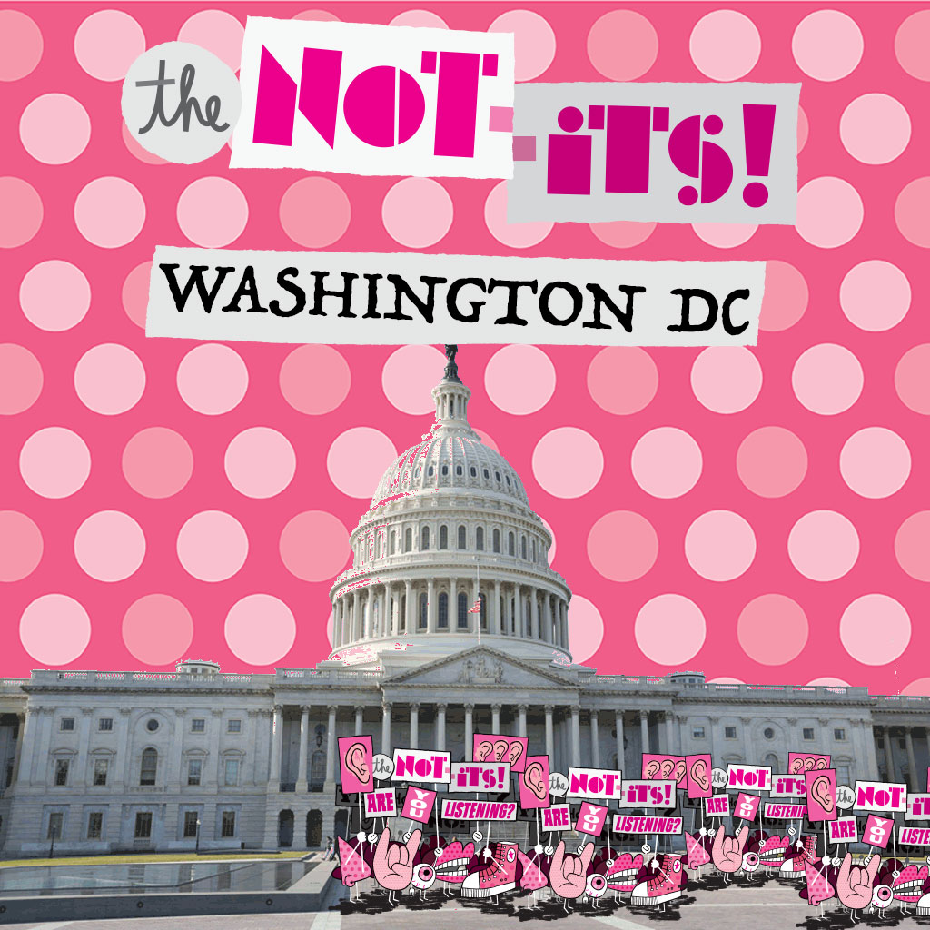 The Not-Its - Washington, DC single cover