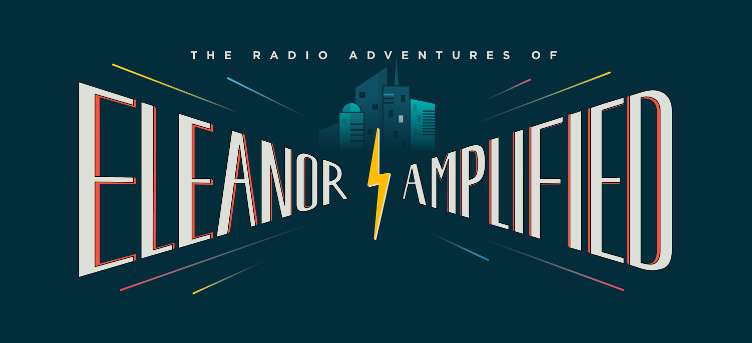 The Radio Adventures of Eleanor Amplified logo