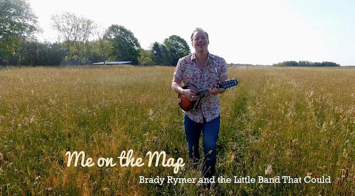 """Still image from Brady Rymer's """"Me on the Map"""" video"""
