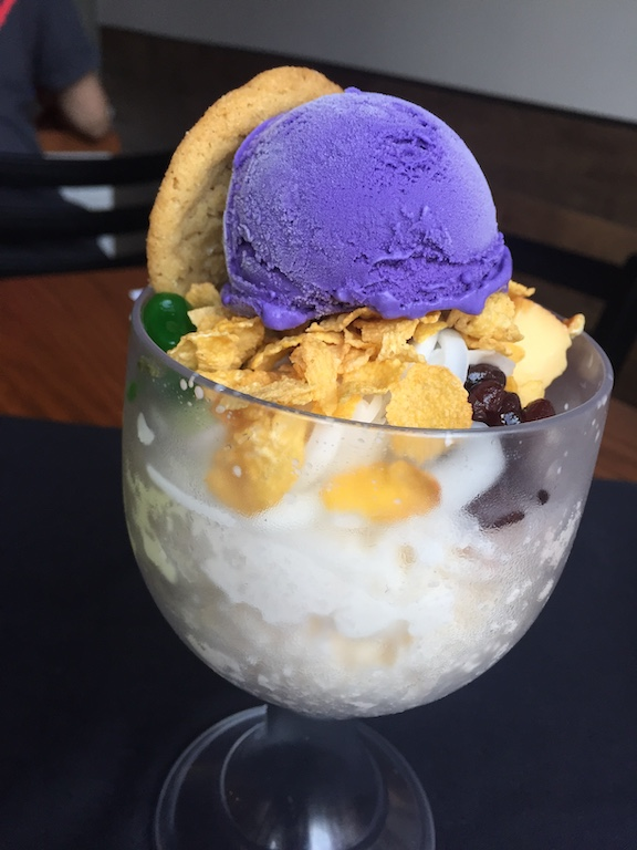 A serving of halo-halo