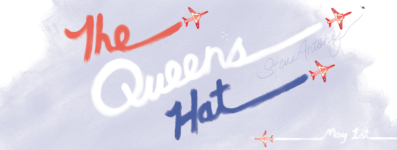 `red arrows british queens hat
