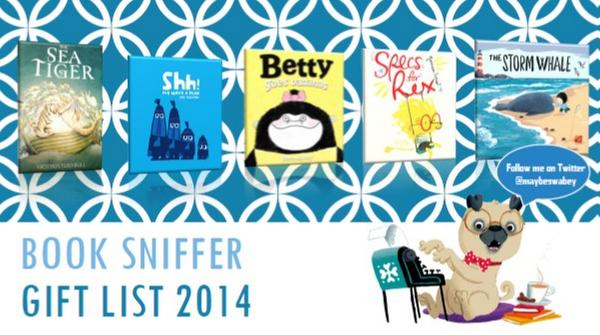 Betty features in The Book Sniffer's 2014  Gift List !