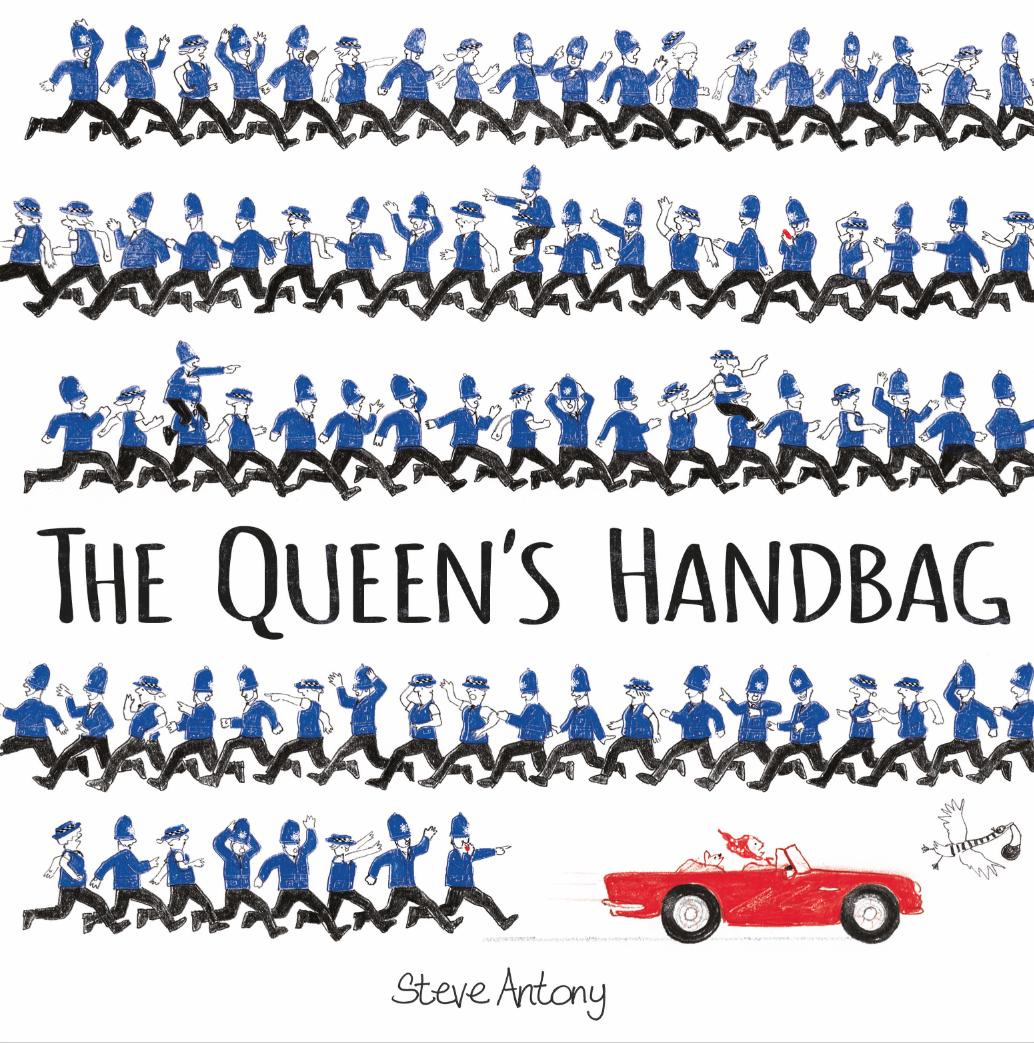 the queens hat the queens handbag