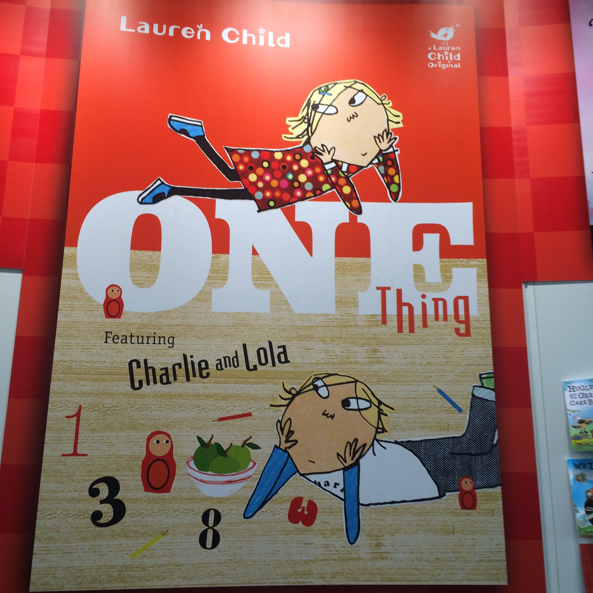 Lauren Child's new picture book.