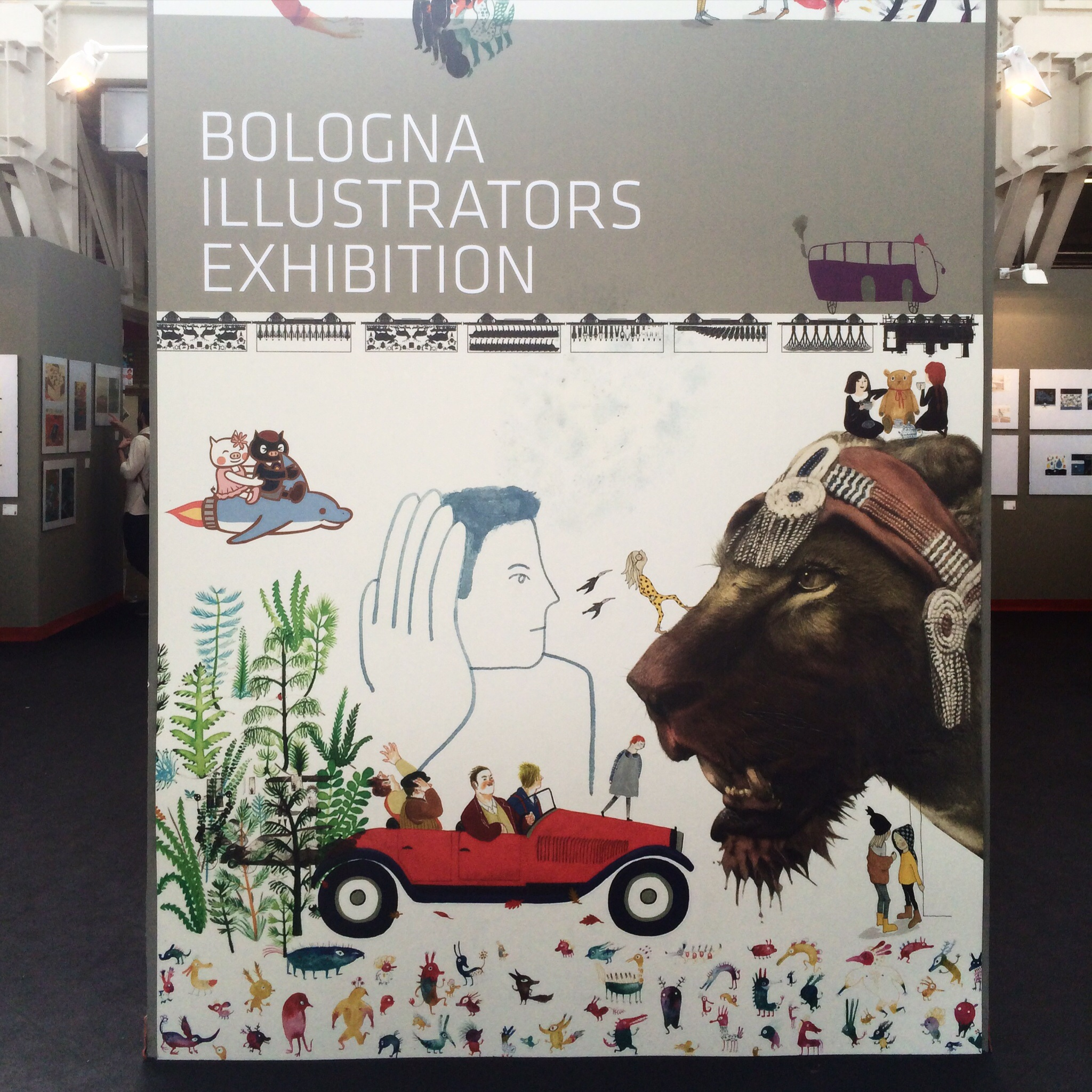 The Illustrators Exhibition.  Anglia Ruskin graduate,   Maisie Shearring, won the International Award for Illustration .
