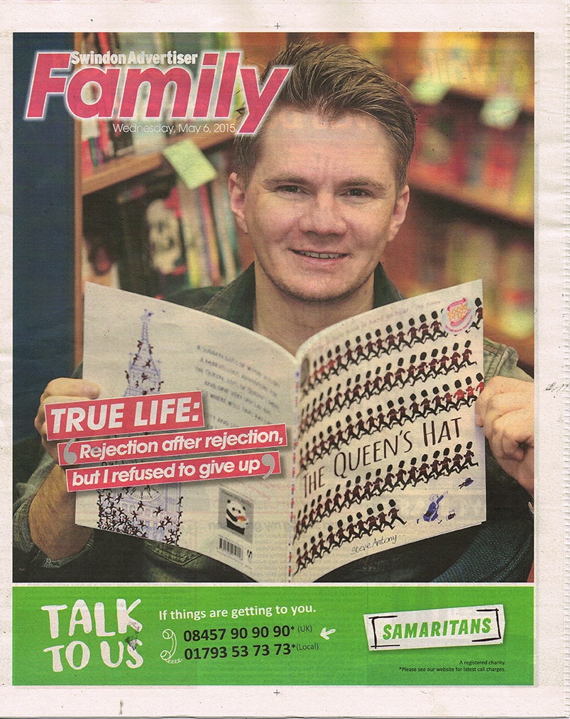 Swindon Advertiser Interview  - Read the article  HERE