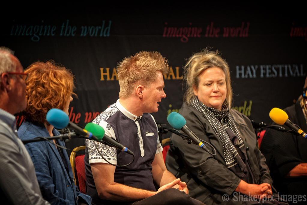 Speaking on BBC Wales.Photo courtesy of  Richard Shakespeare