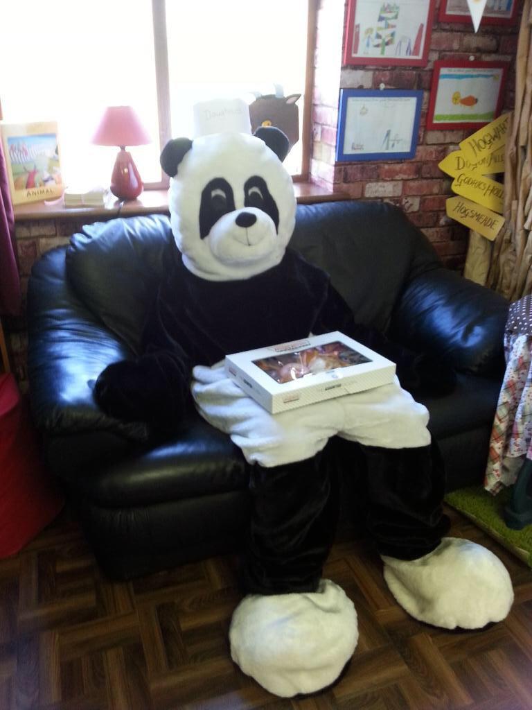 Mr Panda's beat.