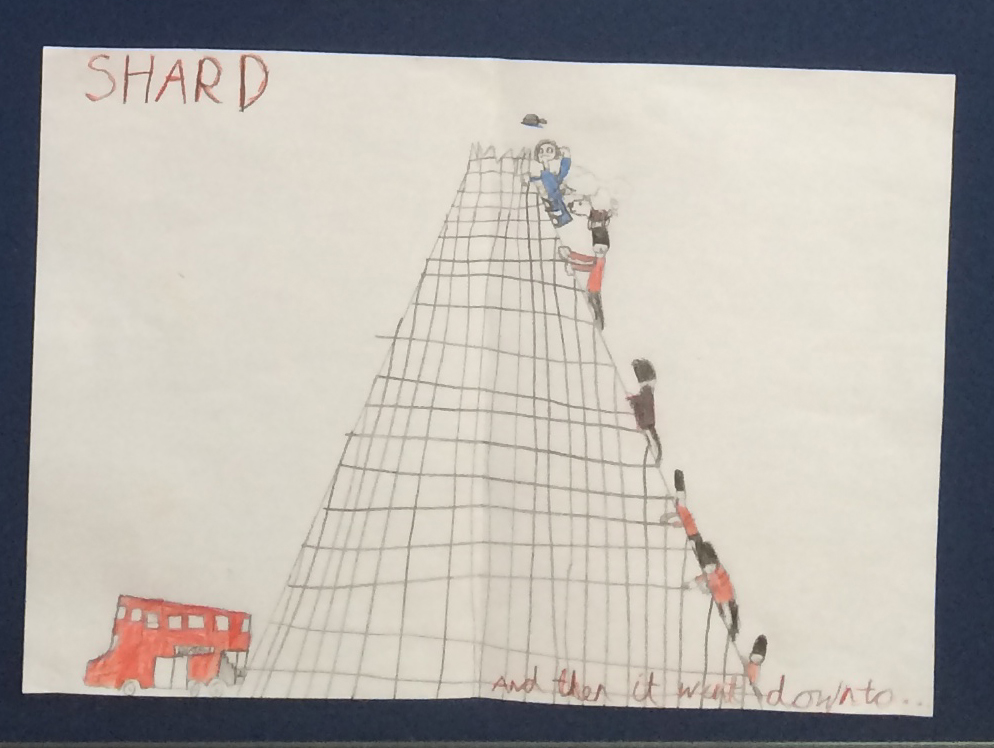 A brilliant picture from a pupil at Littleport Primary School.