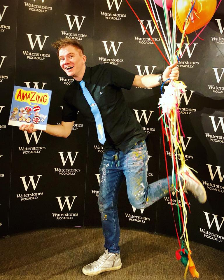 An Amazing launch at Waterstones flagship in PICCADILLY.