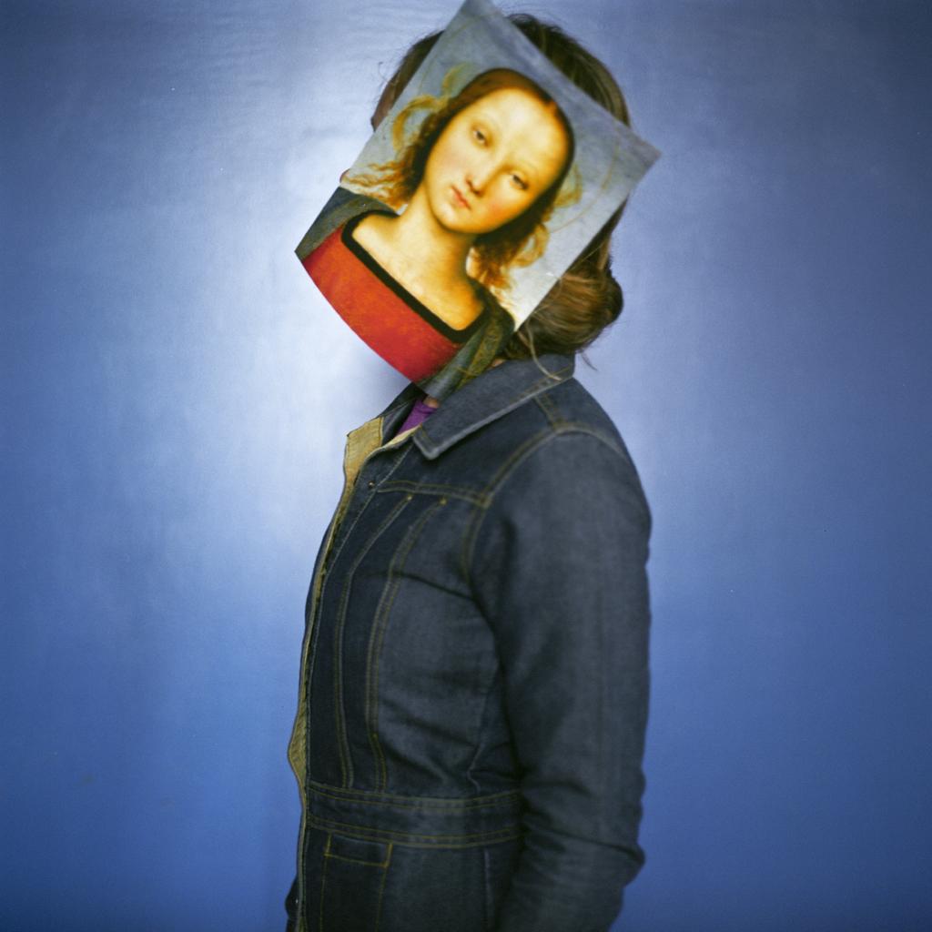 Self Portrait as Mary, Somerville, Massachusetts, 2004