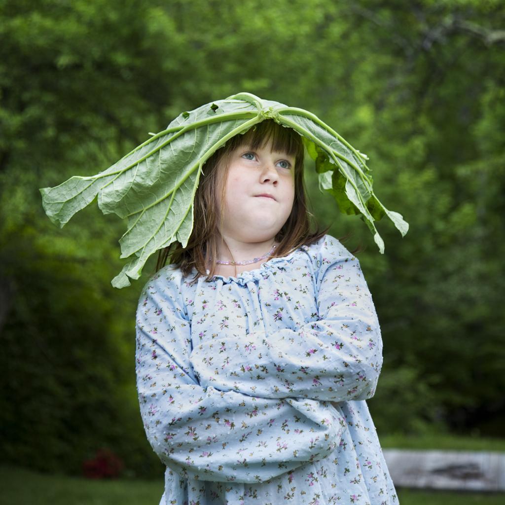 The Rhubarb Princess, Emie, Rockport, Maine, 2009
