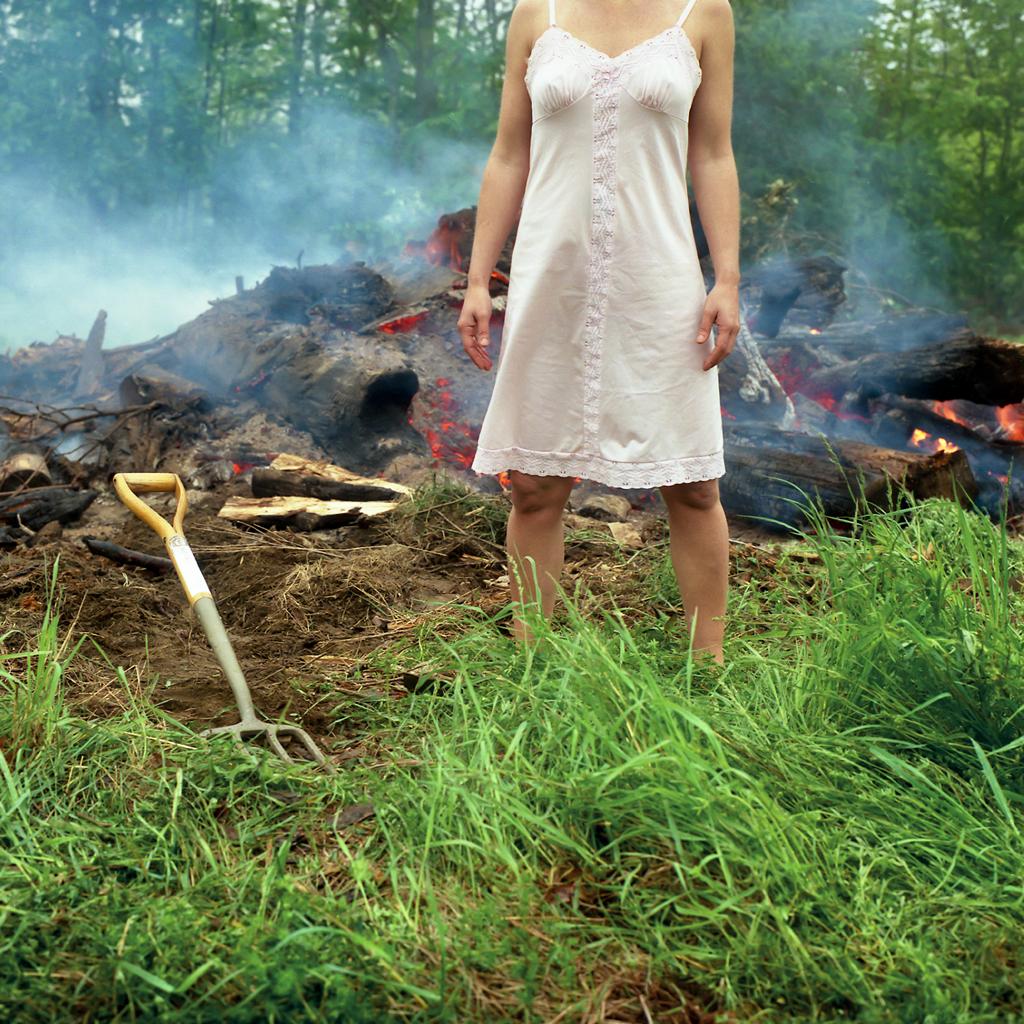 The Bonfire, Self Portrait, Belfast, Maine, 2004