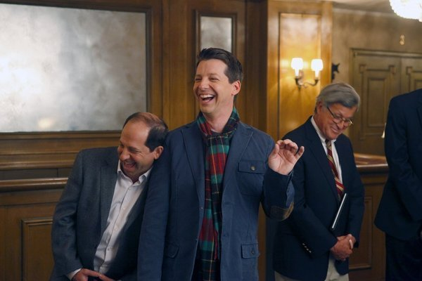 Sean Hayes in the Musical Chairs episode of Smash