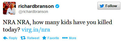 NRA NRA, how many kids have you killed today?