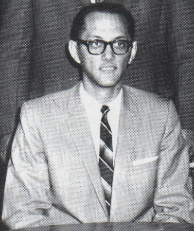 Mr. Good, math teacher and faculty adviser to the Chess Club