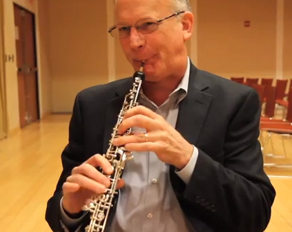 Richard Woodhams, principal oboe of the Philadelphia Orchestra