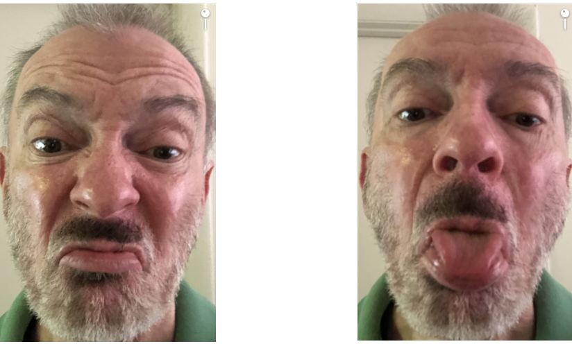 These attempts to make a face don't get past Face ID.