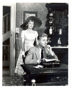 Margaret Sullavan and Claude Dauphin as Jessica and Denny in a scene from the original production of Janus