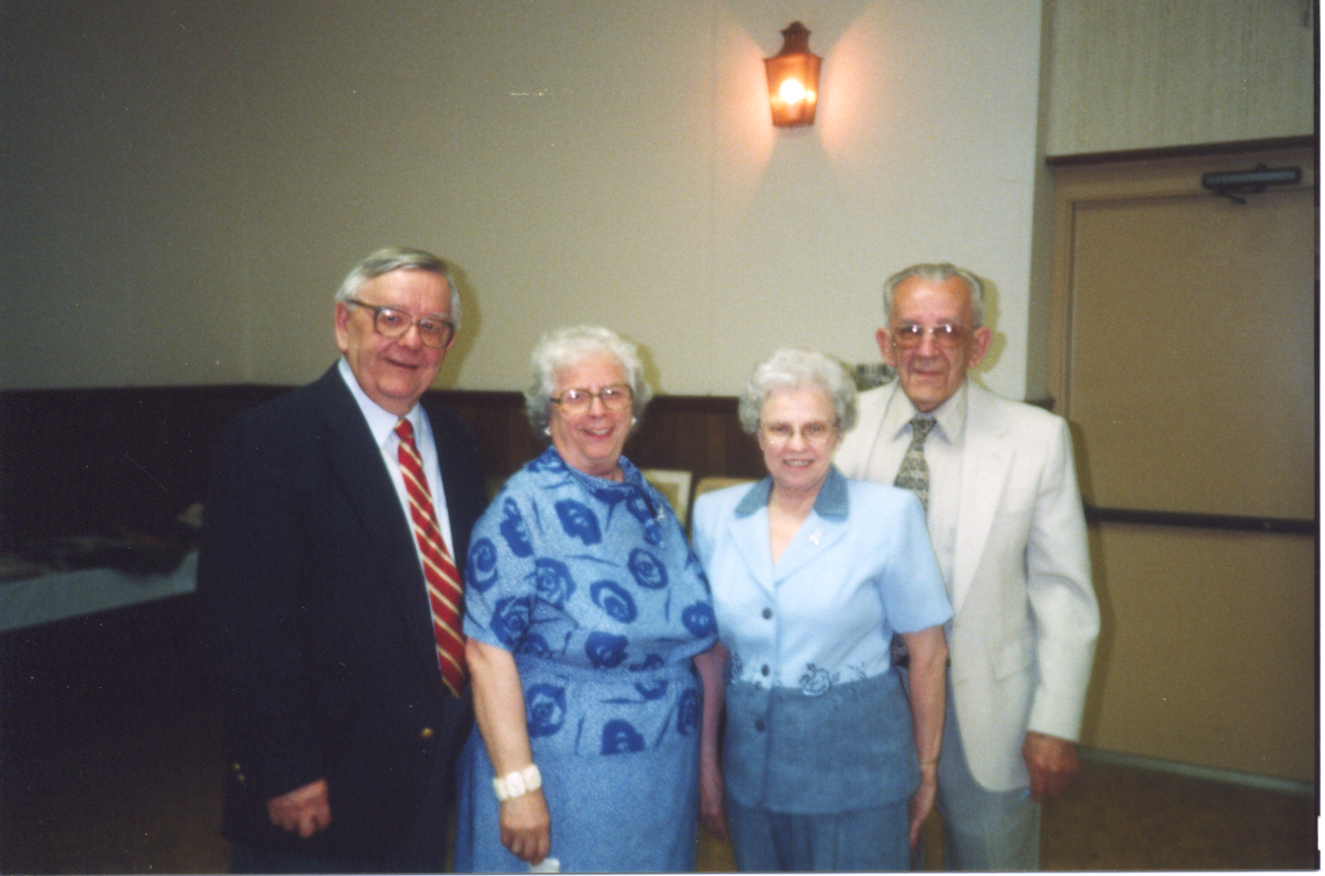 Curtis and his wife Arlene with my parents Arlene and Tuffy circa 2002